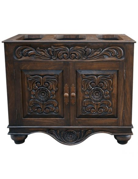 Console & Sofa Tables Beautifully Detailed Wooden Cabinet Diego from our handcrafted Wild West furniture collection. 7481