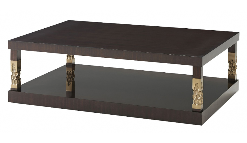 Rectangular and Square Coffee Tables Stunning Dark Hive and Honey Cocktail Table