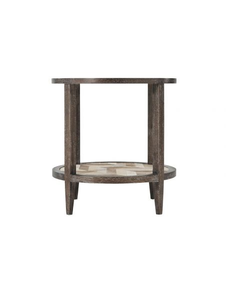 Coffee Tables Lovely Mahogany Chevron Accent Table
