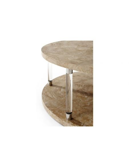 Round and Oval Coffee tables Breathtaking Mystical State of the Art Round Cocktail Table