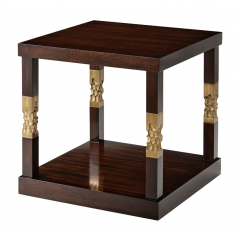 Modern and Simplistic Honeycomb Accent Table