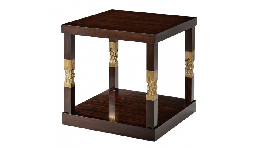 TABLES - SIDE, LAMP & BEDSIDE Modern and Simplistic Honeycomb Accent Table
