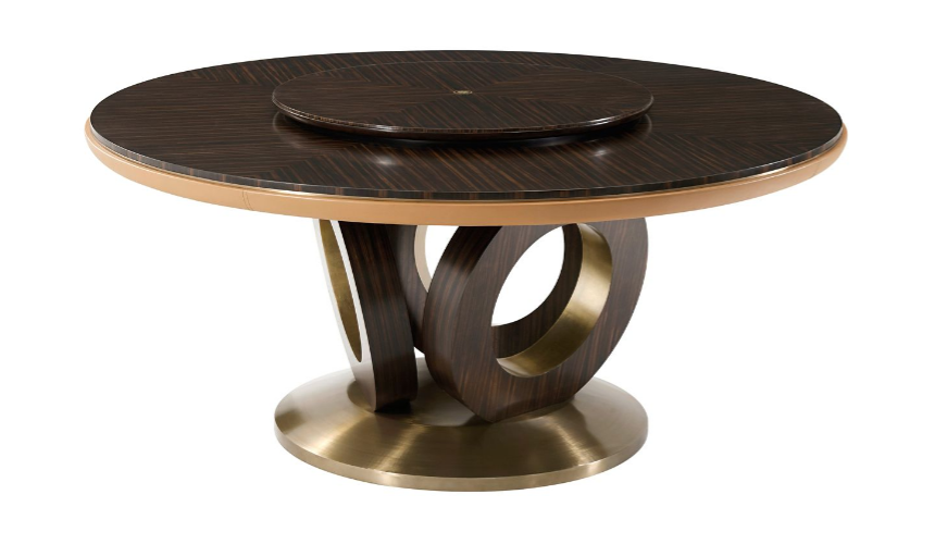 Dining Tables Contemporary Round and Around Dining Table