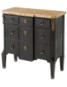 Chest of Drawers Deluxe and Dark Caribbean Treasure Small Dresser