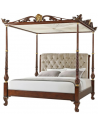 Queen and King Sized Beds Gloriously Golden Adorned King Bed