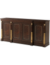 Breakfronts & China Cabinets Gorgeous Honey Tree Cabinet