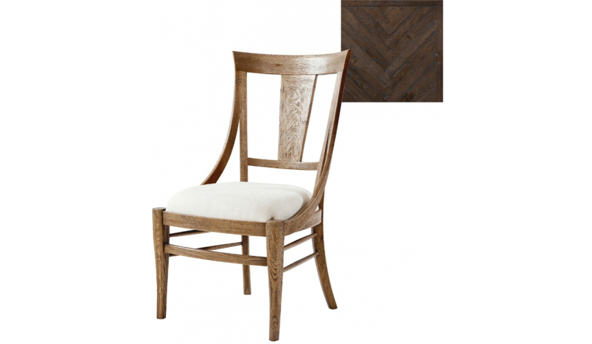 Dining Chairs Elegant Snow Dusted Forest Dining Chair