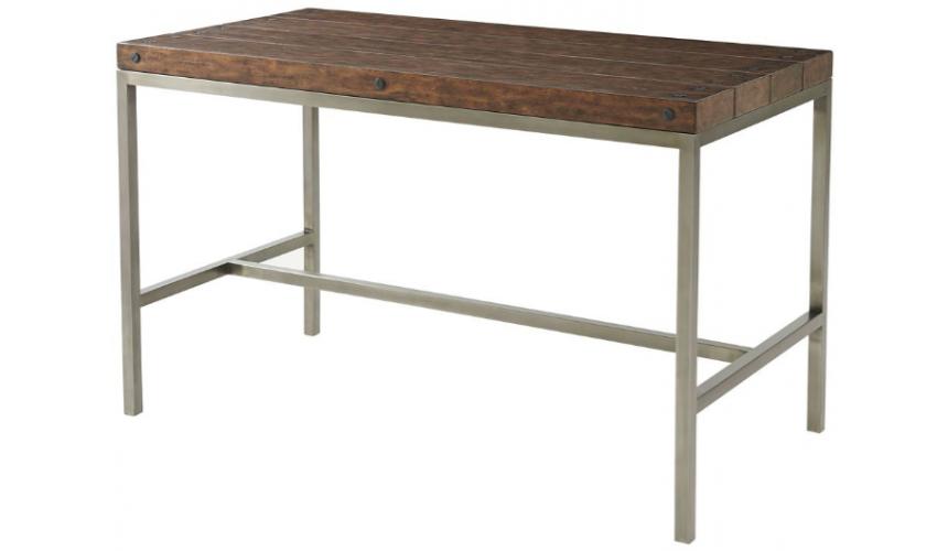 Upscale Bar Furniture High End Sleek and Modern Bar Table