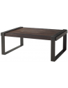 Rectangular and Square Coffee Tables Gorgeous Contemporary Mahogany Cocktail Table