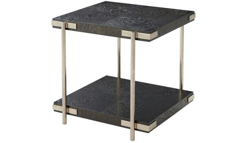 TABLES - SIDE, LAMP & BEDSIDE Stunning Moonbeams at Midnight Accent Table
