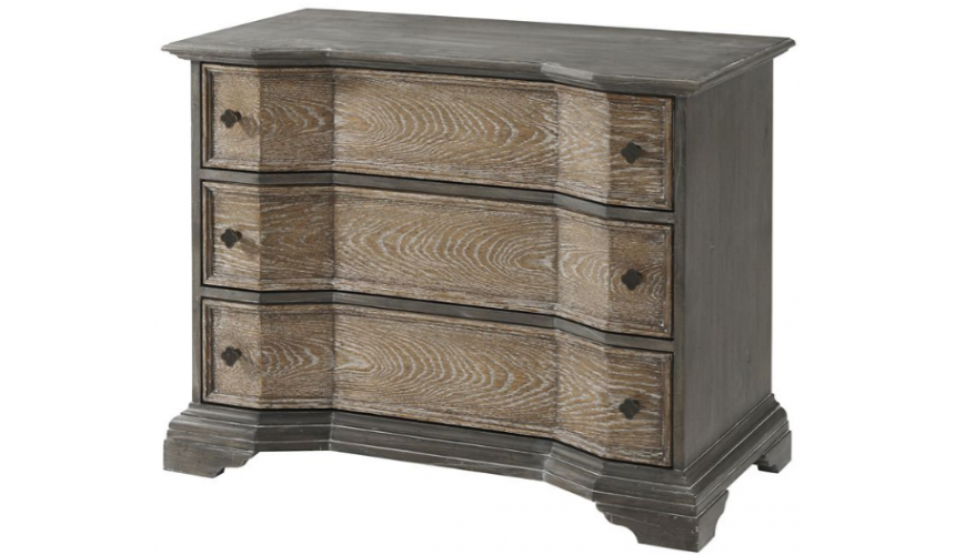 Chest of Drawers Grand and Rustic Seafoam Grey Chest of Drawers