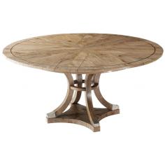 Beautiful Crossed Echo Oak Table