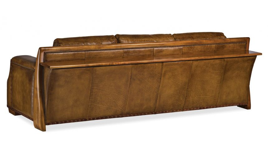 SOFA, COUCH & LOVESEAT Gorgeous Weathered Caramel Sofa