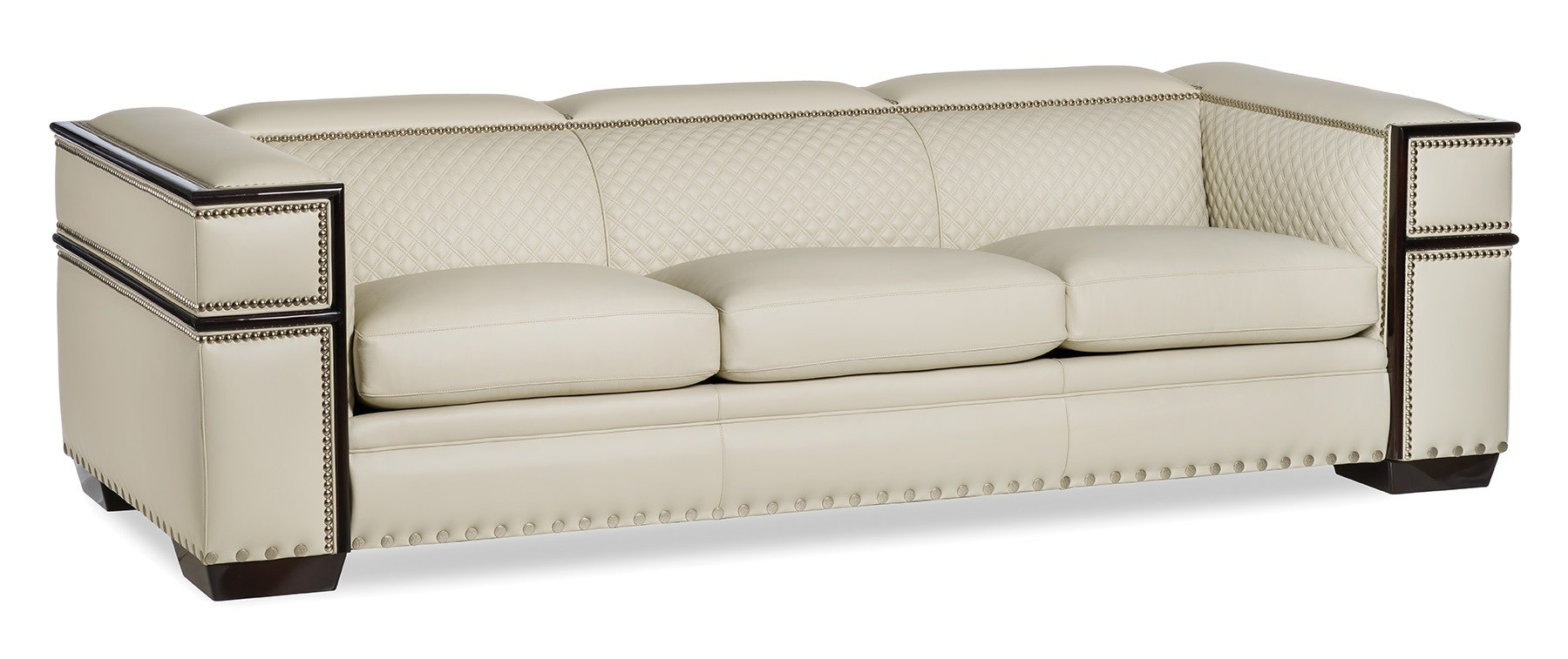 leather easy chair elegant modern and geometric off white sofa 16621 | elegant modern and geometric off white sofa