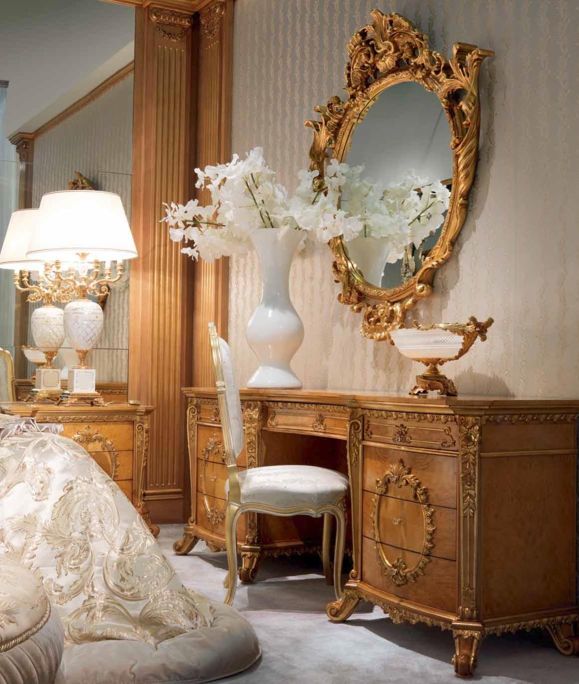 Elegant Furniture: Elegant Forest Silver Snow Bedroom Furniture Set