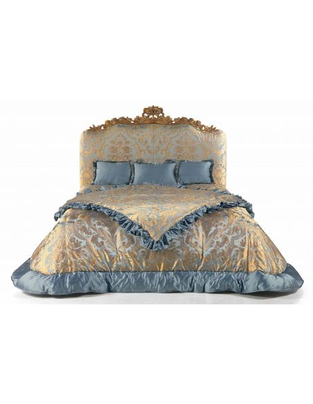 Queen and King Sized Beds Elegant Golden Blue Summer Sky Bed