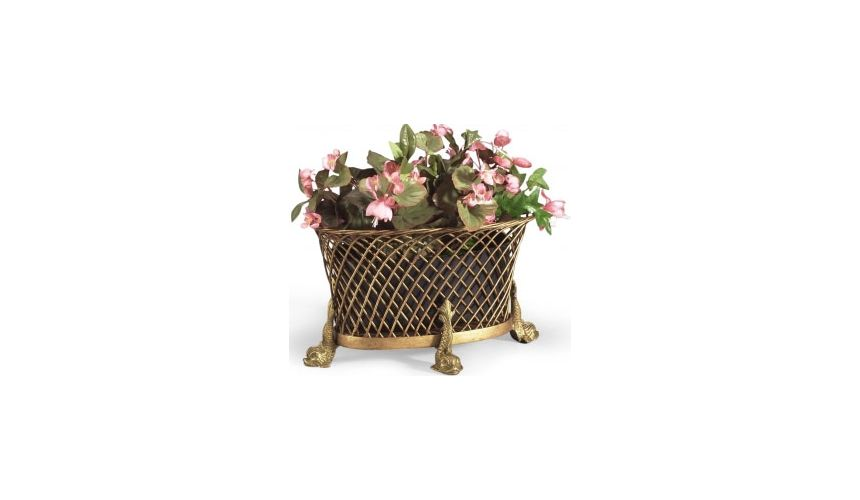 Other Home Accessories Gold Dolphin Planter