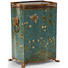 Butterfly Patterned Garden Planter