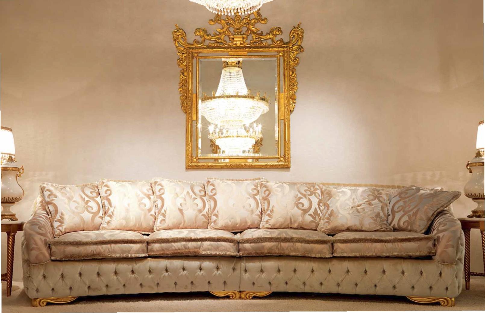 High End And Elegant Plush Living Room Furniture Set