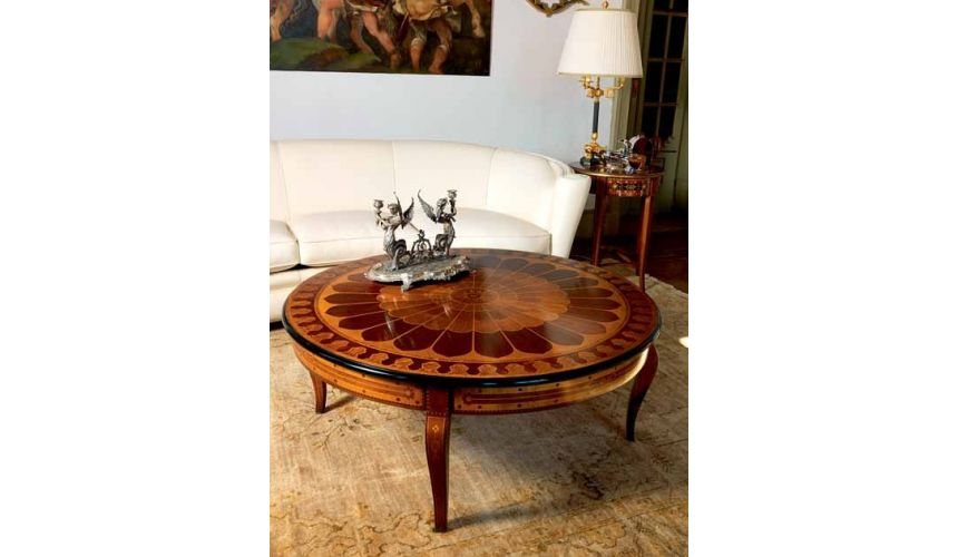 Round and Oval Coffee tables Deluxe Navigator's Guide Furniture Set