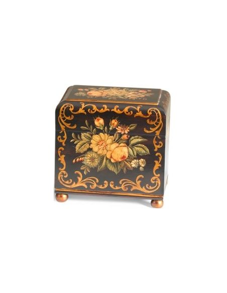 Decorative Accessories Floral Patterned Caroline Box