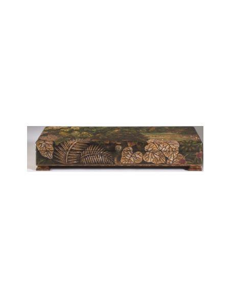 Decorative Accessories Leaf Patterned Brazilian Box
