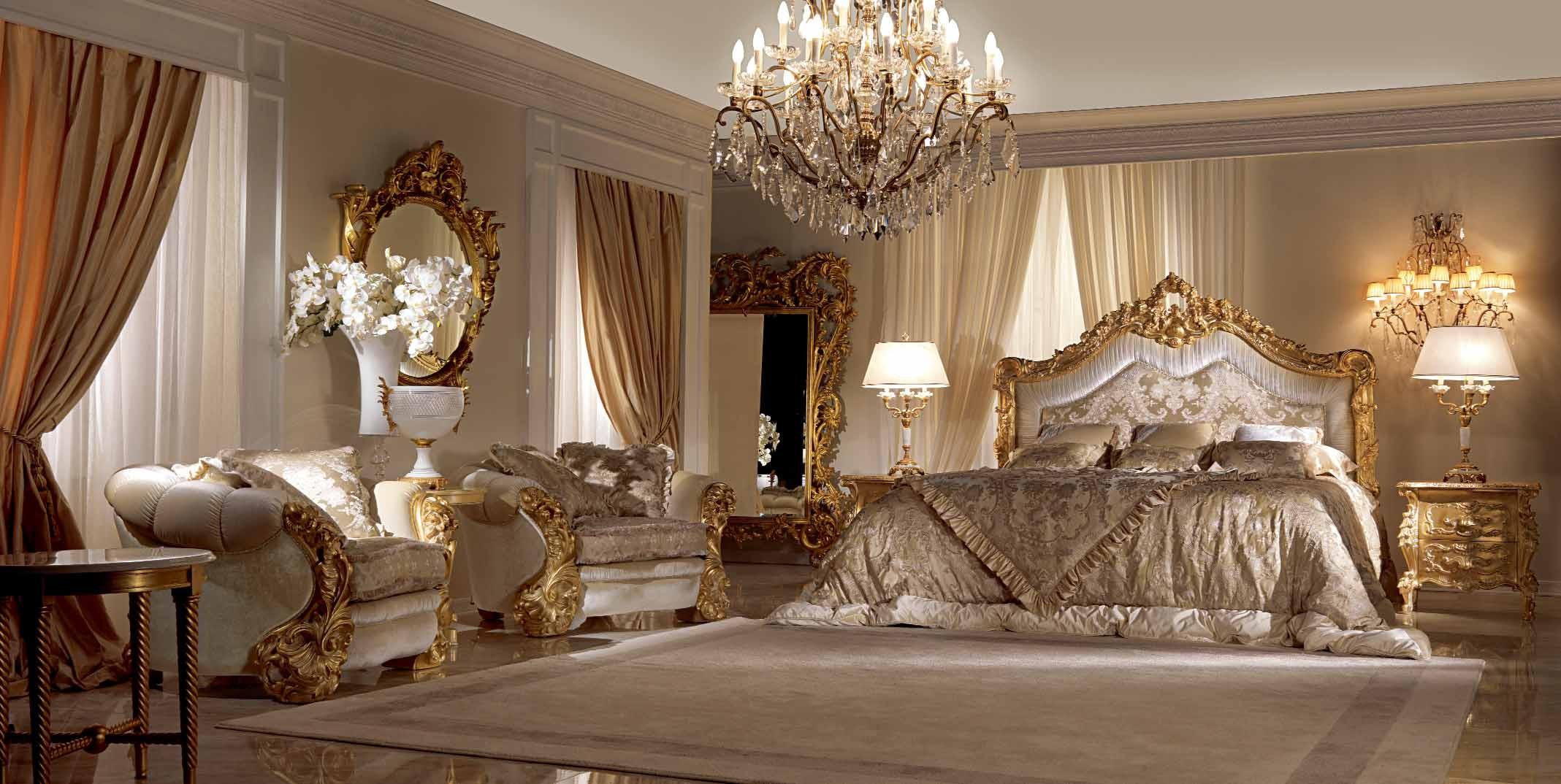 Stunning Bronze Star Light Bedroom Furniture Set