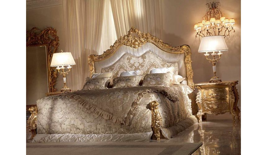 Queen and King Sized Beds Stunning Bronze Star Light Bedroom Furniture Set