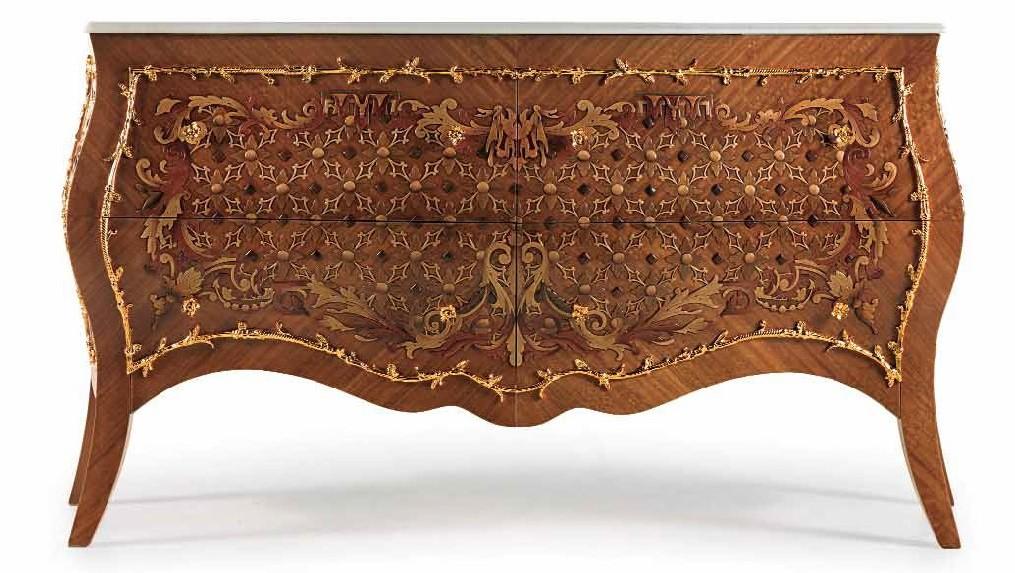 Stunning Amber Swirl Bedroom Furniture Set