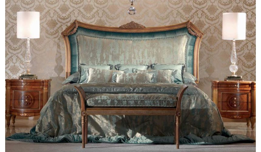 Queen and King Sized Beds Luxurious Waterfall Naiads Furniture Set