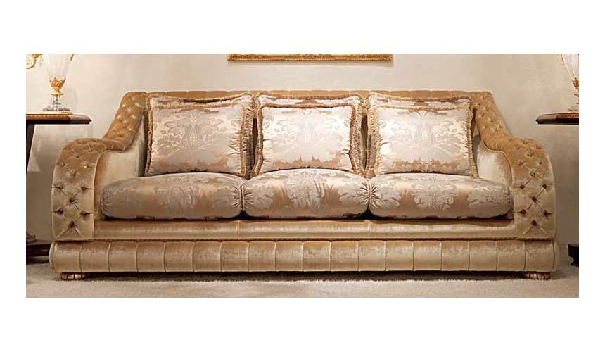 SOFA, COUCH & LOVESEAT Gorgeous Champagne Pop Furniture Set