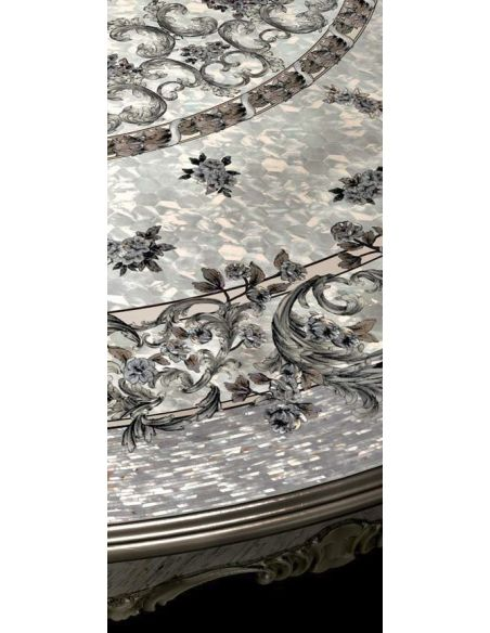 Dining Tables 1 Empire Mother of Pearl foyer center table