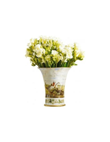 Decorative Accessories Circular Hunt Vase