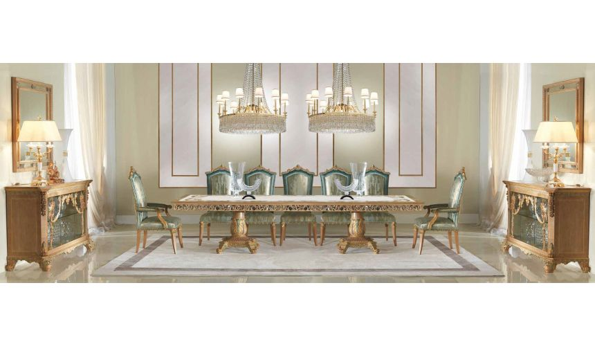 SOFA, COUCH & LOVESEAT Gorgeous Sirens of the Sea Dining Room Furniture Set