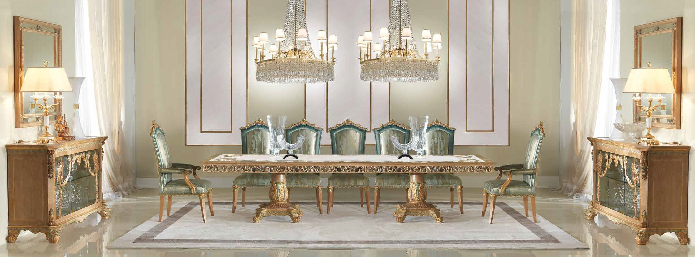 Gorgeous Sirens of the Sea Dining Room Furniture Set