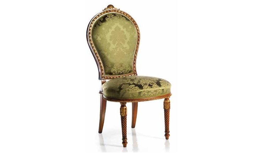 CHAIRS, Leather, Upholstered, Accent Luxurious Thrones of Earth's Jewels Accent Chairs