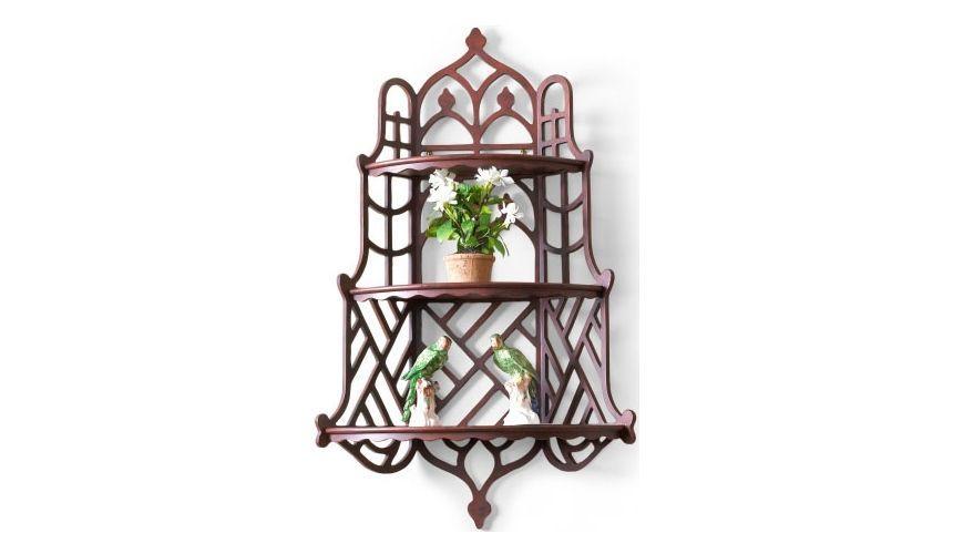 Decorative Accessories Windsor Wood Finished Wall Shelf
