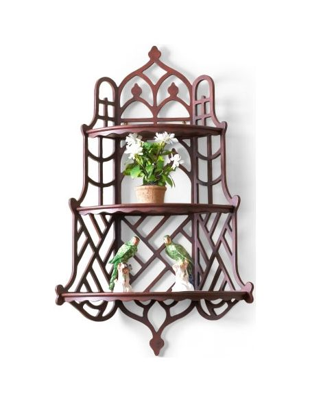 Decorative Accessories Windsor Wood Finished Wall Shelf