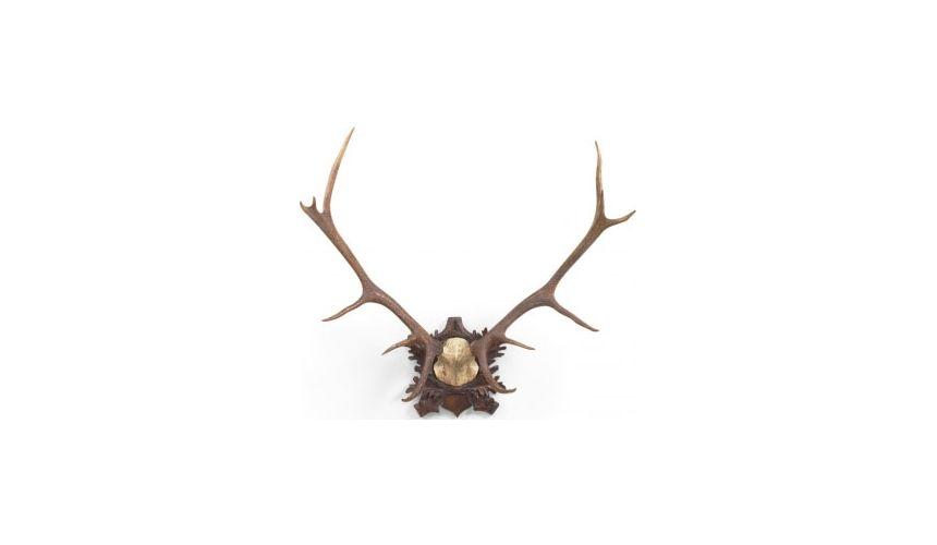 Decorative Accessories Oak Finished Antelope Ornamentation
