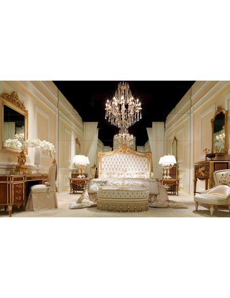Queen and King Sized Beds Elegant Heaven on Earth Bedroom Furniture Set