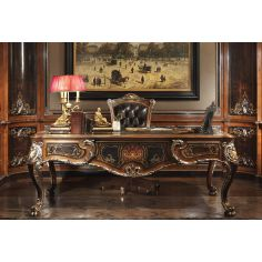 Luxury furniture. Exquisite empire style executive desk