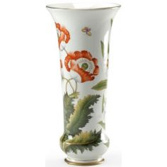 Beautiful Poppy Flower Vase