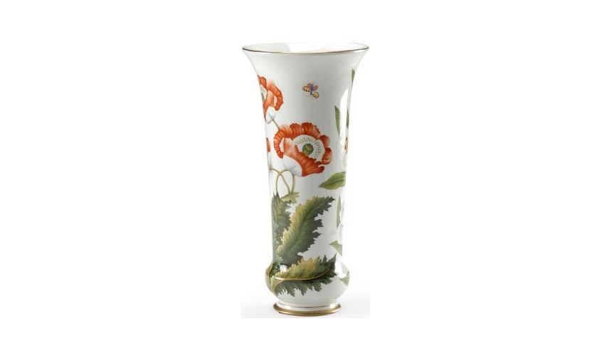 Decorative Accessories Beautiful Poppy Flower Vase