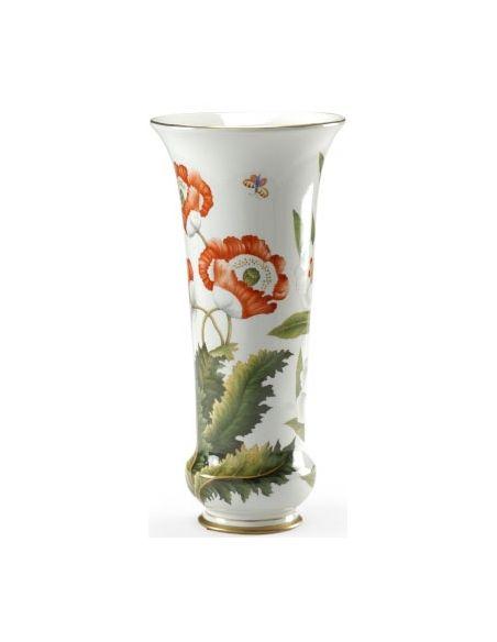Decorative Accessories Beautiful Poppy Flower Vase