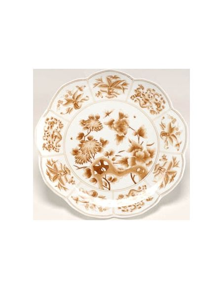 Other Home Accessories Canton Nutmeg Patterned Plates (Set 6)