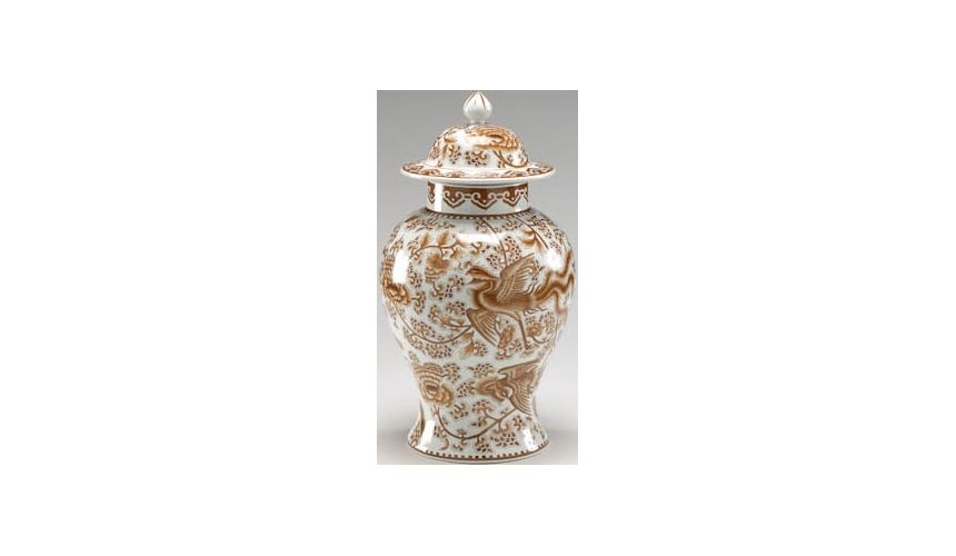 Decorative Accessories Nutmeg Temple Jar
