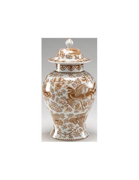 Decorative Accessories Nutmeg Temple Jar