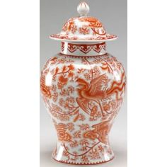 Exquisite Pumpkin Temple Jar