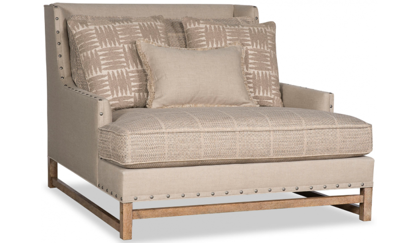SETTEES, CHAISE, BENCHES Deluxe Dipped in Cream Sofa Chair