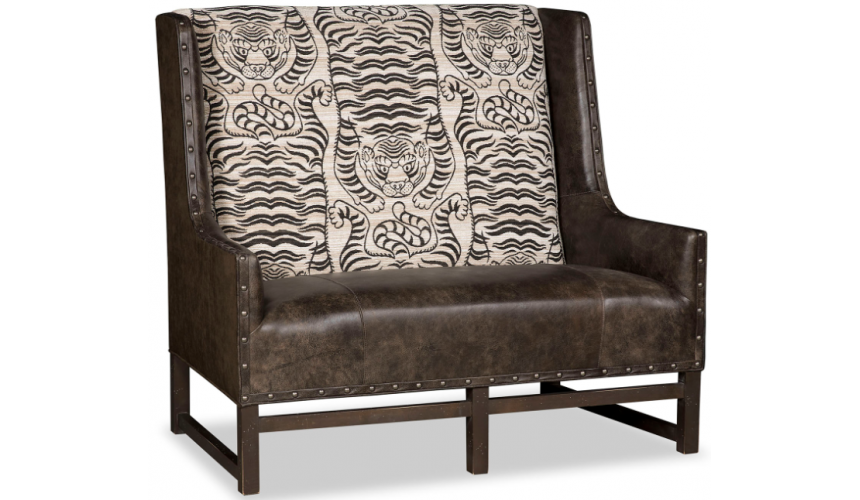 SETTEES, CHAISE, BENCHES Luxurious Tigress of the Night Accent Chair